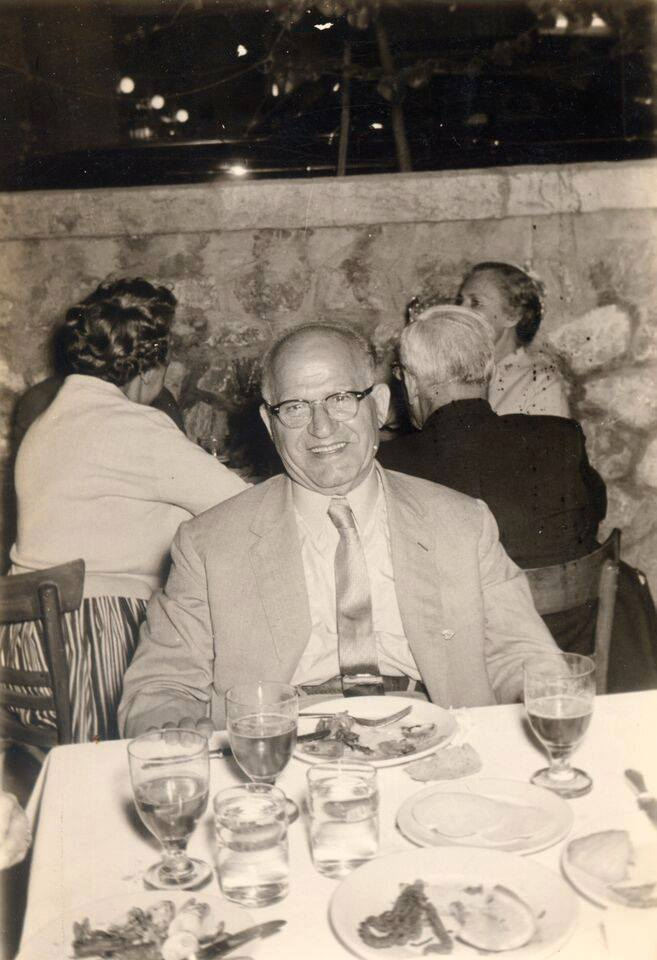 Papouli Tom, grandfather to Papouli's Greek Grill owner Nick Anthony